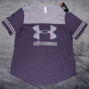 NWT Under Armour HeatGear Graphic Baseball Top XL
